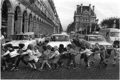 Atelier Robert Doisneau  enfants, Paris, 1978