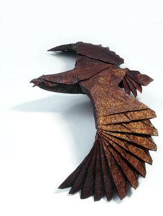 Origami Eagle (Jaroslav Mishchenko)