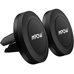 Extra Slim Dashboard Magnetic Car Mount Holder for Cell Phones and Mini Tablets with Fast Swift-Snap Technology King of wonder niversal Flat Stick On 2 Pack