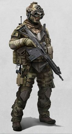 Special Forces by ~ AlexJJessup on deviant ART #military #special forces #operator