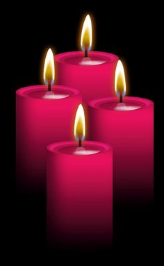 ✯ 4 Rose Candles: Use for Compassion for self and others, higher mystical powers, humor, Love, romance, opening the heart, forgiveness, compassion, healing, joy, creativity, endurance, strength, stability and security .. By ~Blood-Huntress✯