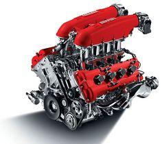 Ferrari motor van de F430