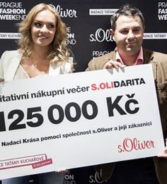 Charity Shopping. s.Oliver Charity Shopping Aktion sammelt 5.000 Euro