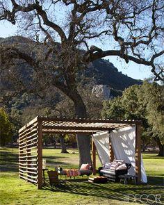 Southern California Horse Ranch - Ellen DeGeneres Portia de Rossi Santa Monica Home - ELLE DECOR