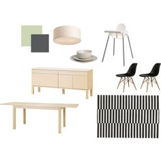 """""""ikea dining room"""" by lovelylucille on Polyvore"""