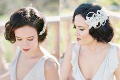 6 recursos para as noivas com cabelo curto   http://www.blogdocasamento.com.br/06-recursos-para-as-noivas-com-cabelo-curto/