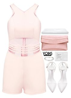 """""""Yoins 4.11"""" by emilypondng ❤ liked on Polyvore featuring Zara, Trish McEvoy, yoins, yoinscollection and loveyoins"""
