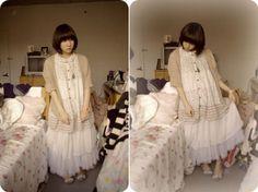 "modernprincessdaily:  ""Sew lovely (by Kaiami .)  """