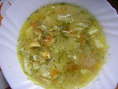 Kapustová polievka s vajíčkom