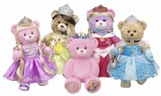 3d46c016d84 Build-A-Bear Workshop  New Disney Princess Bears