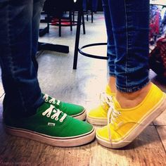 I LOVE this!!! Especially those yellow Vans!! :D