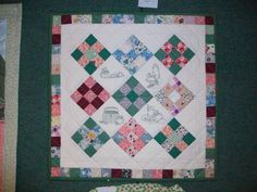 Simple rail fence pattern. | Quilts, Wall Hangings and other ... : old city quilts - Adamdwight.com