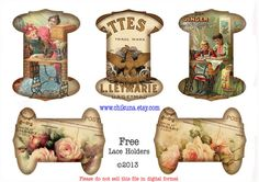 FREEBIE - Free Download Printable Ribbon Spool
