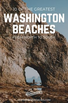 Explore the Washington State Coast from north to south with this complete guide to the Pacific Northwest coast. Includes WA road trip routes, accommodations, things to see on the coast, and more! Washington Beaches, Washington State Parks Camping, Living In Washington State, Places To Travel, Places To Go, Travel Destinations, California, Beach Trip, Pacific Northwest