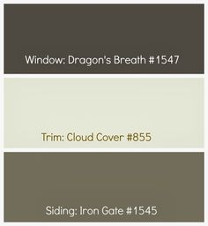 Home exterior paint colors with brick benjamin moore 23 Ideas Exterior Paint Colors For House, Interior Paint Colors, Paint Colors For Home, Exterior Colors, Exterior Design, Trim Paint Color, Paint Color Combos, Paint Colours, Stain Colors