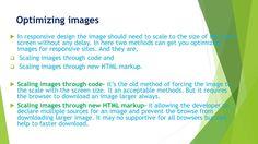Mobile Web Design &Development Practices Guideline https://vimeo.com/168598477