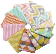 Yummy prints... Come to mama. Red Pepper Quilts: Sunday Stash #155 ~ Simpatico & Pirate Stipes