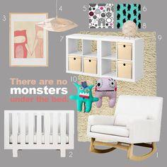 Monster nursery - boy