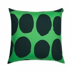 Marimekko Koppelo Green Throw Pillow - Click to enlarge