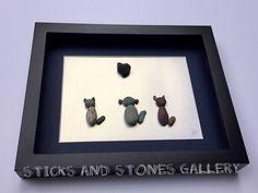 Veterinarian Gift Veterinary Clinic Decor Stone Dogs and