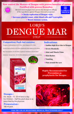 Homeopathy Medicine For Dengue Fever