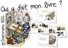 Qui a fait mon livre ? Diaporama sur les auteurs, illustrateurs, imprimerie , librairie , éditeurs.... Bout de gomme Teaching French, Learn French, Learn English, Core French, French Classroom, French Language, Art School, Curriculum