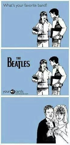 "You had me at ""The Beatles"""