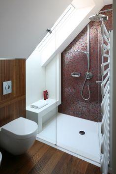 kabina prysznicowa pod skosem - Szukaj w Google
