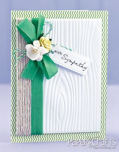 With Sympathy Card by @Clare Buswell