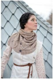 Next project -- Malabrigo Twist yarn. Beautiful pattern, but needs a more vibrant color. Crochet Cape, Crochet Scarves, Knit Crochet, Easy Knitting Patterns, Hand Knitting, Knitting Projects, Crochet Projects, Soho, Designs To Draw