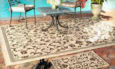 Must-have for my deck! Safavieh Indoor-Outdoor Rug