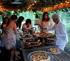 Pizza is the perfect entree for your next event or grad party! Contact us for your catering needs. #squeal