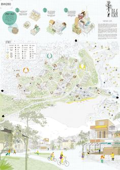 Pin by arnon lintz on masterplan Design Presentation, Architecture Presentation Board, Project Presentation, Architecture Graphics, Architecture Drawings, Architecture Portfolio, Masterplan Architecture, Architecture Visualization, Landscape And Urbanism
