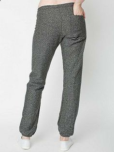 Unisex Salt and Pepper Sweatpant | American Apparel