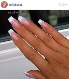 Pretty nails, french