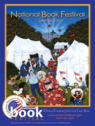 2001 Library of Congress National Book Festival Poster. Poster Artist: Lu Ann Barrow.