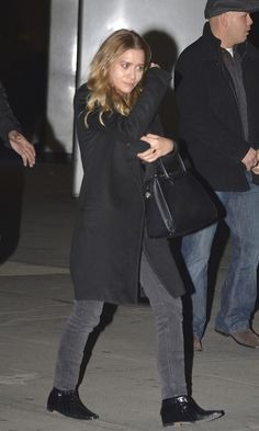 Ashley was spotted leaving a Fleetwood Mac concert at Madison Square Garden. Get the look: +...