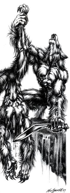 White Wolf, World of Darkness, Ron Spencer.