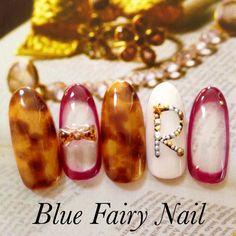 ネイル 画像 Blue Fairy Nail ブルーフェアリーネイル 千里丘 407747