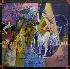 Image result for circus painting