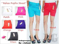 Nasional - Diskon - Sexy Colorfull Hotpants Available in 3 Model Only Rp 35.000