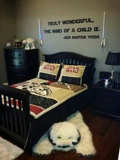 Star Wars Bedroom Ideas on Pinterest