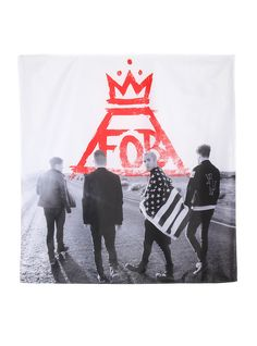 This FOB banner - your wall.