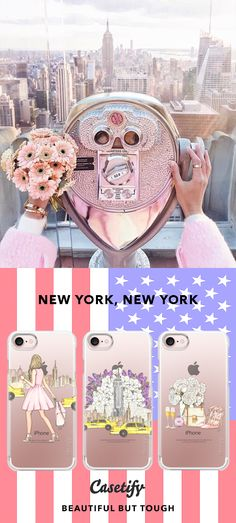"""""""New York, New York.""""   Top iPhone 7 Cases and iPhone 7 Plus Cases for New York Lovers. For more New York City Cases, shop them here ☝☝☝ BEAUTIFUL BUT TOUGH ✨ - Photography, Travel, City, USA, America, NYC, 4th July, Broadway, Food, Fireworks"""