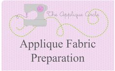 Tutorials Archives - The Applique Circle