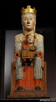 Romanesque Sculpture, Romanesque Art, Early Christian, Christian Art, Eslava, Statues, Fra Angelico, Mystique, Madonna And Child