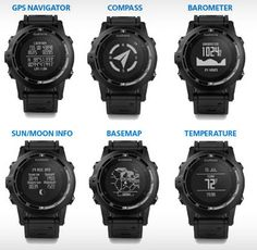 Only 3 Tactical GPS Watches To Consider What you can DO with Garmin Tactical GPS Navigator!What you can DO with Garmin Tactical GPS Navigator! Men's Watches, Watches For Men, Popular Watches, Fashion Watches, Tactical Equipment, Survival Equipment, Military Gear, Military Equipment, Police Gear