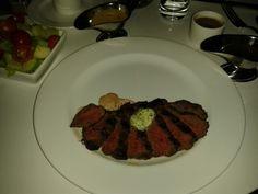 Steak Tibits  Entrée at the Sky Cafe in the Revel Casino, Atlantic City, NJ