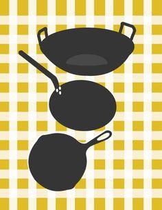 Printables - Ilustrações para cozinha   Tays Rocha