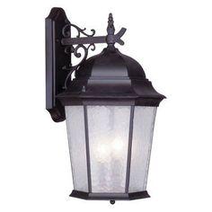 Livex Hamilton 7565-07 Outdoor Wall Lantern 23.25H in. - Bronze - 7565-07
